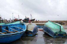 Port In Essaouira 1 Stock Image