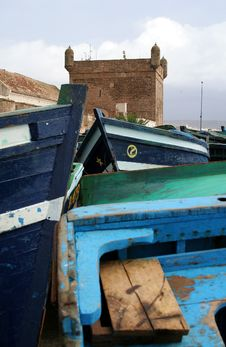 Free Port In Essaouira 9 Stock Photo - 1481710