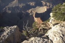 Free Grand Canyon From Hopi Point Royalty Free Stock Image - 1482086