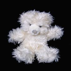Free White Teddy Bear Royalty Free Stock Photography - 1482287