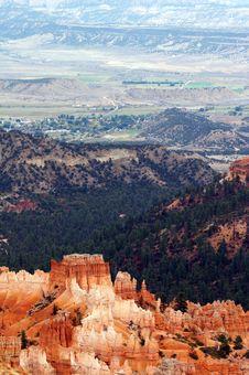 Free Amphitheater - Bryce Canyon Stock Photos - 1482293