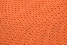 Background From A Red Tile Roof Royalty Free Stock Photos