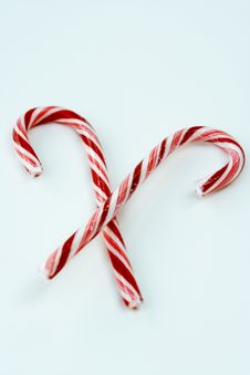 Free Candy Canes Royalty Free Stock Photos - 1482818