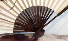 Decorative Fan Royalty Free Stock Photo
