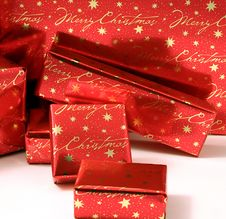 Free Christmas Presents Series 2 - Wrapped Boxes3 Royalty Free Stock Photos - 1483338