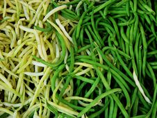 Free Background Of String Beans Royalty Free Stock Photo - 1483725
