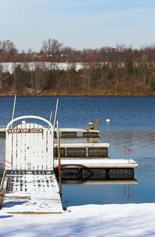 Free Closed Winter Dock Stock Photo - 1483920