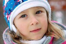 Free Winter Portait Royalty Free Stock Photos - 1483988