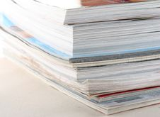 Stack Of Magazines Stock Image