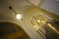 Free Gallery Of A Classical Building Royalty Free Stock Images - 1484489