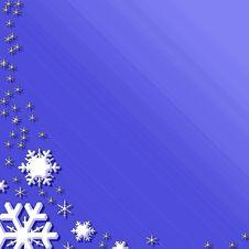 Free Snowflakes Background Stock Photos - 1484543