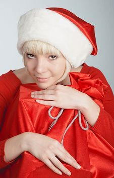 Free Miss Santa Royalty Free Stock Photography - 1484587