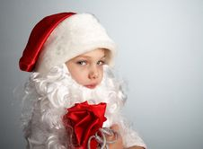 Free Little Santa Royalty Free Stock Photos - 1484608