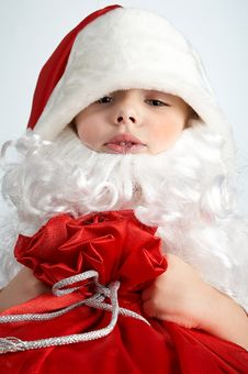 Free Little Santa Royalty Free Stock Photos - 1484618