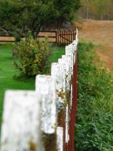 Free Wood Fence Stock Image - 1484671