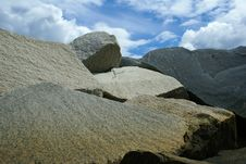 Rocks And Sky Royalty Free Stock Image