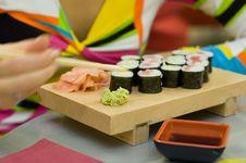 Free Sushi Stock Photos - 1485983