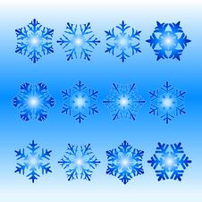 Free Snowflakes Royalty Free Stock Photography - 1486147