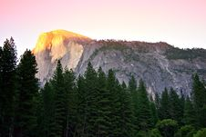 Free Half Dome, Yosemite National Park Royalty Free Stock Photo - 1486405