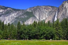 Free Yosemite Falls, Yosemite National Park Royalty Free Stock Photos - 1486448