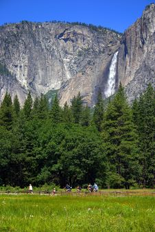 Yosemite Falls, Yosemite National Park Stock Photos