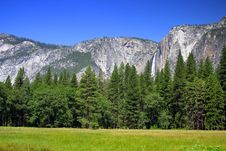Yosemite Falls, Yosemite National Park Royalty Free Stock Photography