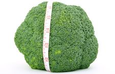 Free Fresh Green Vegetable, Isolated Over White Stock Images - 1486894