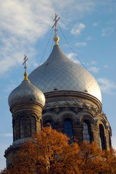 Free Church In Blue Sky Stock Photos - 1486943