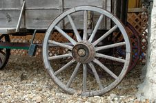 Free Wagon Wheels Stock Image - 1488171