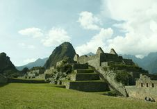 Free Incas City Machu-Picchu Royalty Free Stock Photo - 1488725