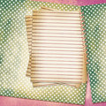 Free Grunge Sheet For Design Polka Dot Background Stock Photos - 14802913