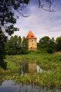 Free Old Tower At The Lake Royalty Free Stock Photos - 14803298