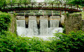 Free Bridge Of A Canal Spillway Royalty Free Stock Photography - 14806117