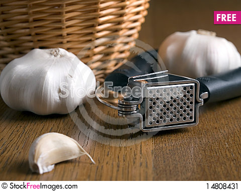 Free Garlic Press Stock Image - 14808431