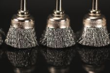 Free Metal Brushes Stock Photo - 14800530