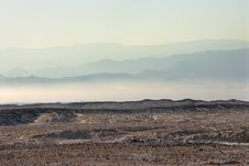 Free Arava Desert In The First Rays Of The Sun Stock Photo - 14800610