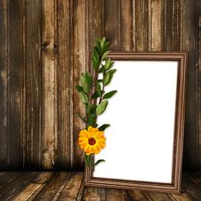 Free Grunge Room For Design With Old Frame Royalty Free Stock Image - 14802896
