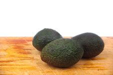 Whole Avocado Stock Images