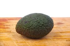 Whole Avocado Stock Image