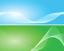 Free Blue And Green Background Stock Images - 14803774