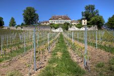 Free Chateau De Vullierens, Switzerland Stock Image - 14804431