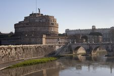 Free Rome Castel Sant Angelo Stock Images - 14805404