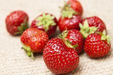 Free Fresh Strawberry Fruits Stock Image - 14805501