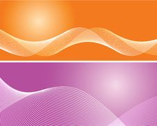 Free Pink And Orange Background Royalty Free Stock Photos - 14805658