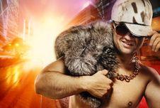 Free Stylish Glamorous Rapper Stock Photo - 14807450