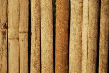 Free Bamboo Wall Royalty Free Stock Photo - 14807495