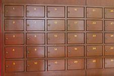 Post Box Royalty Free Stock Photos