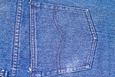 Free Jeans Cloth Royalty Free Stock Image - 14808546