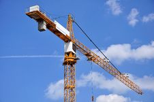 Free The Tower Crane. Stock Images - 14808774