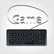 Free Keyboard Royalty Free Stock Photos - 14809288